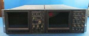 Tektronix 1720 Vectorscope And Textronix 1730 Waveform Monitors Rackmountable