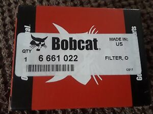 6661022 Filter Bobcat Oem Hydraulic Case Drain Filter T140 T180 T190 T200 T250