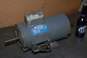 Doerr 1 5hp Single Phase Electric Motor 97h 8e 1725rpm fr xk56cfcz Inv 26836