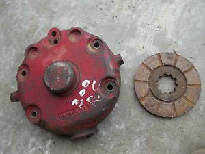 Farmall 300 Ih Tractor Disc Disk Brake Cover Housing Disks Assembly 358046r1