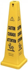 36 in Home Janitorial Safety Cone Slippery Caution Hazard Wet Floor Signs
