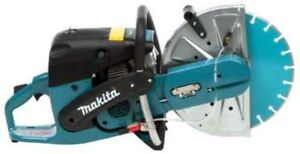 Makita Gas Saw Concrete 14 In 73cc Diamond Blade 5 stage Filtration System