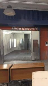 Used Paint Spray Booth