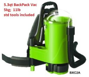 Commercial 5 3 Quart Backpack Vacuum Standard Tool Kit Red Backpak Vac