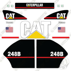 Caterpillar 248b Decal Kit Equipment Decals Older Style