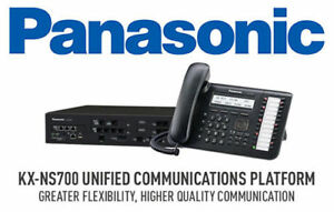 Panasonic Kx ns700 Hybrid Pbx Unified Communications Platform 2 Year Warranty