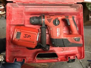 Hilti Te4 a18 Cpc Cordless Hammer Drill Preowned Extra 11 Bits