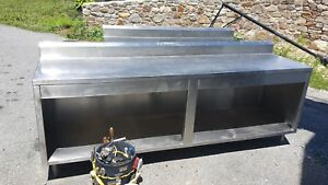 Stainless Steel Food Prep Table Cabinet