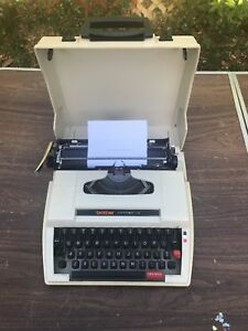 Vintage Typewriter Brother Accord 10 Typewriter Mid century Working Well