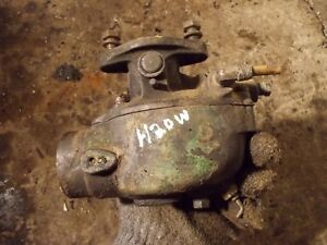John Deere 420 W Tractor Original Jd Marvel Schebler Good Working Carburetor