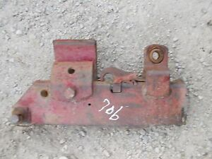 Farmall 706 806 Rowcrop Tractor Fasthitch Main 2pt Hitch Left Complete Pocket