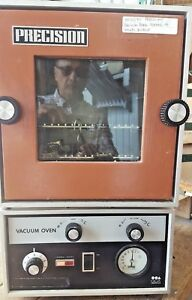 Precision Scientific Vacuum Oven Model 19 In Perfect Working Order 10172 3t