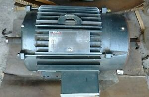 Lincoln Electric 7 5 Hp Inverter Duty Ctac 3 Phase Electric Motor