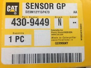 Cat4309449 Caterpillar Coolant Level Sensor Gp D23m12y15p473 430 9449 4309449