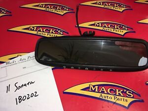 11 Hyundai Sonata Inside Rear View Rearview Mirror With 5 Buttons 180202