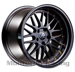 18x8 5x110 Jnc 005 Matte Black Made For Pontiac Dodge Saturn Saab