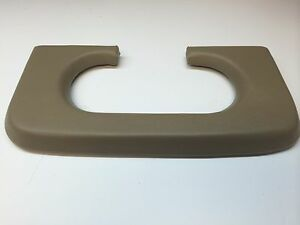 Ford F250 350 Center Console Cup Holder Pad 1999 2010 Medium Parchment Pebble