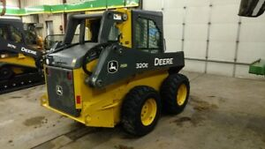 2016 John Deere 320e Skid Steer Loaders