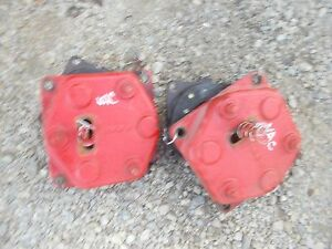 Case Vac Tractor Disc Disk Brake Brakes W Cover Covers Housing