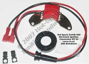 Electronic Ignition Conversion Kit For Lucas 35d8 Distributor 8 cyl Rover Rolls