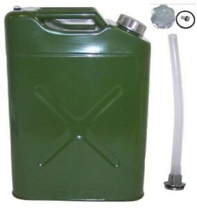 Eu 5 Gallon Gas Can 20l Jerry Can Gasoline Gas Fuel Can Emergency Backup Gas
