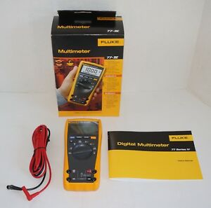 Fluke 77 iv 4 77iv True Rms Digital Multimeter 1000 V 10 Amp Brand New