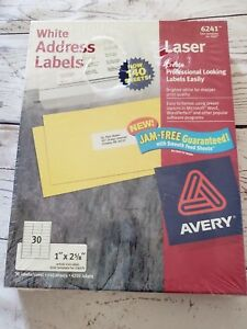 Easy Peel White Address Labels For Laser Printers 5160 1 X 2 5 8