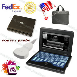 Digital Portable Laptop B ultrasound Scanner Machine contec convex Probe