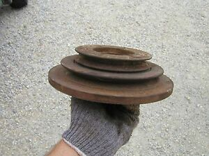 Farmall 706 Tractor Original Ih Ihc Engine Motor Front Double Pulley