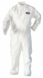 Kimberly Clark Kleenguard Coveralls Xxl Zippered 24 Coveralls 49005