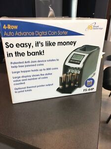 Royal Sovereign Fs 44p Automatic Coin Sorter