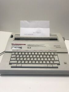 Smith Corona Electric Typewriter 250 Dle Working