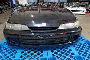 Jdm 94 01 Honda Integra Type R Front Nose Hid Cut Conversion Jdm B18c Blk