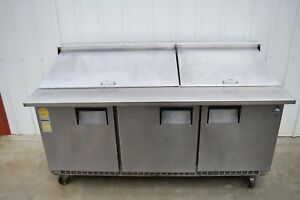 Everest Epbr3 71 Refrigerated Prep Table