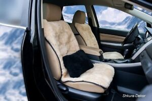 Car Seat Cover 100 Genuine Siberian Sheepskin Patchwork 43 20 Inches