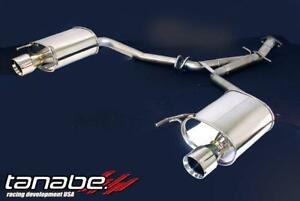 Tanabe Medallion Touring Dual Muffler Rear Section Exhaust 06 07 Is250 2wd Awd