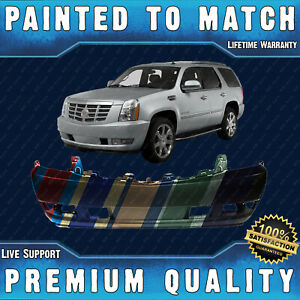 Painted To Match Front Bumper Fascia Direct Fit For 2007 2014 Cadillac Escalade