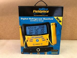 New Fieldpiece Sman360 3 port Digital Manifold With Micron Gauge 122244 5