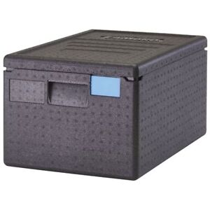 Cambro Cam Gobox Black Plastic Top Loading Pan Carrier 23 1 2 l X 15 7 10 w