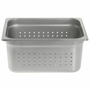 Hubert Perforated Steam Table Pan 1 2 Size 22 Gauge Stainless Steel 6 d