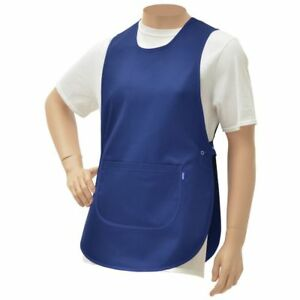 Hubert Cobbler Apron Royal Blue Poly Cotton 30 l X 19 w