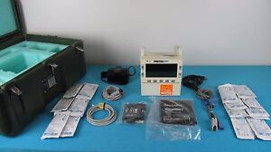 Welch Allen Propaq Encore 206el Vital Signs Monitor W Accessories