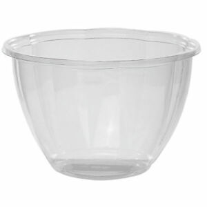 Jaya 48 Oz Clear Ingeo Take Out Disposable Containers 300 Per Case