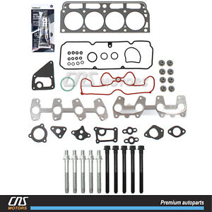 Head Gasket Set W Bolts For 98 03 Chevy S10 Cavalier Sonoma Hombre Sunfire 2 2l