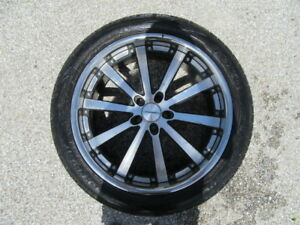 4 Used 22 Inch Vossen Wheels With 4 Toyo Used Tires