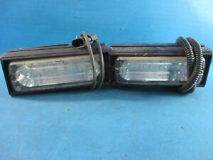 Lot Of 2 Whelen 500 Series Red Blue Led Lighthead Module Lights Used