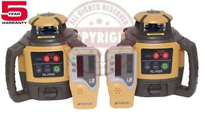2 New Topcon Rl h5a Self leveling Rotary Grade Laser Level Slope Transit