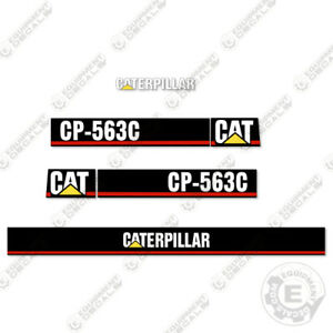 Caterpillar Cp 563 c Vibratory Compactor Decal Kit Equipment Decals Cp563c