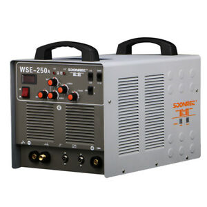 Wse250a Aluminum Welder Ac dc Tig mma 3 In 1 Welding Machine 220v
