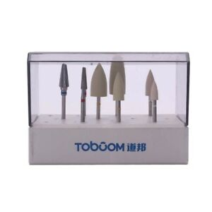 Toboom Hp0308d Dental High Gloss Polishing Kit For Acrylic 8pcs 1kit